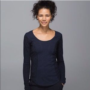 Lululemon Between The Lines Long Top